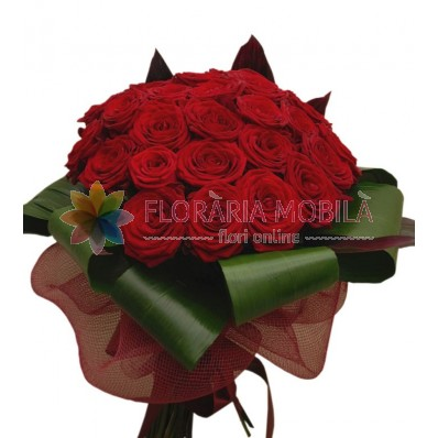 buchete de trandafiri rosii