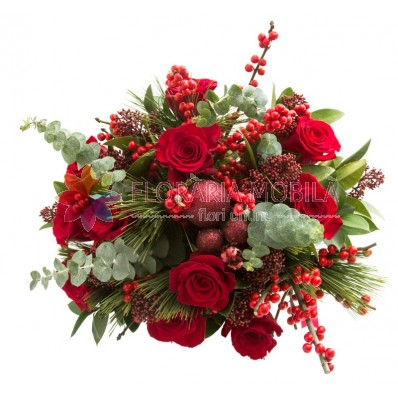 buchete flori iarna