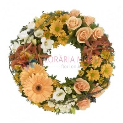 coroana flori