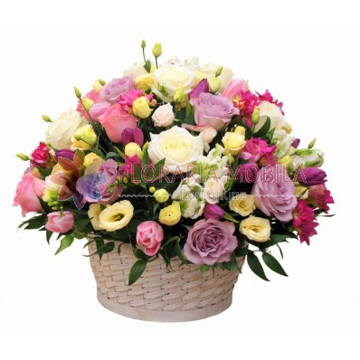 cosuri cu flori proaspete
