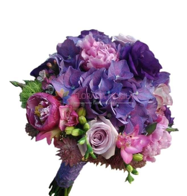 Buchet Mireasa La 290 Lei Floraria Mobila