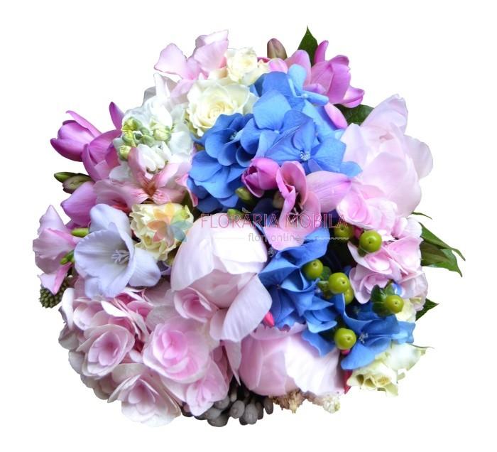 Buchet Mireasa La 325 Lei Floraria Mobila