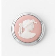 Bijuterie Jasper brosa roz