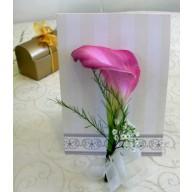 cocarde din flori naturale