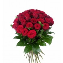 buchet 35 trandafiri rosii