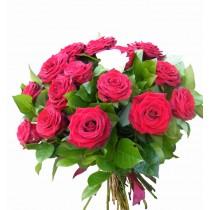 buchet 17 trandafiri
