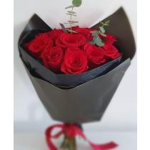 simplicity flowers buchet 13 trandafiri