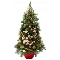 """""""All I want for Christmas"""" brad de craciun 100 cm"""