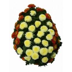 coroane din crizanteme