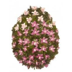 coroana flori din orhiee