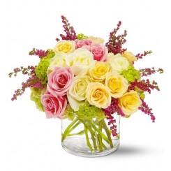 aranjamente cu trandafiri, florarie online, florarie bucuresti, flori  ieftine