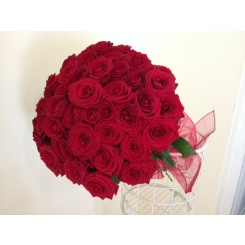 buchet 45 trandafiri