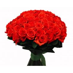 buchet din trandafiri rosii