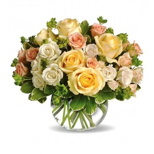 buchet cu 31 trandafiri