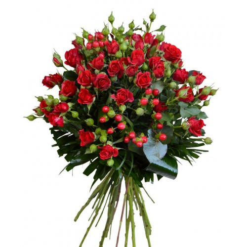 buchete trandafirasi rosii