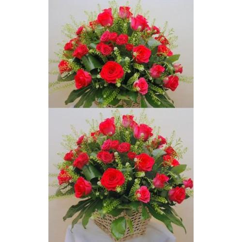 cosuri din trandafiri rosii
