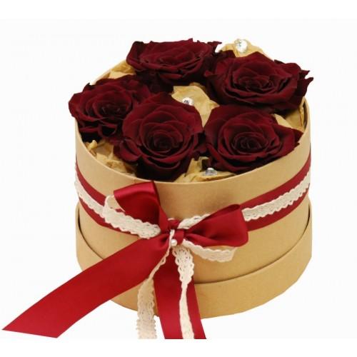 trandafiri in cutie criogenati