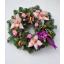 aranjamente coronite cu orhidee si trandafiri