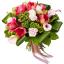 buchet amaryllis, cale si trandafiri
