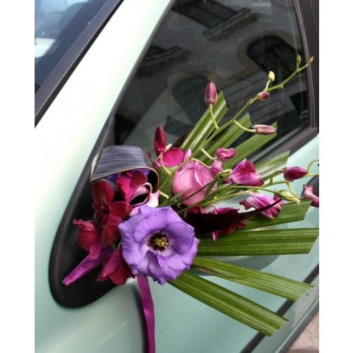 lisianthus, trandafir si orhidee