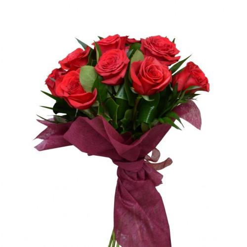 buchet 9 trandafiri
