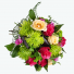 buchete din trandafiri si crizanteme verzi